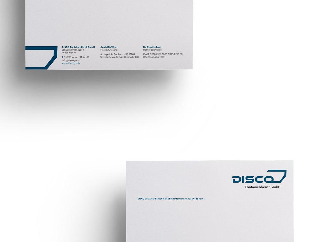 Disco GmbH Briefbogen