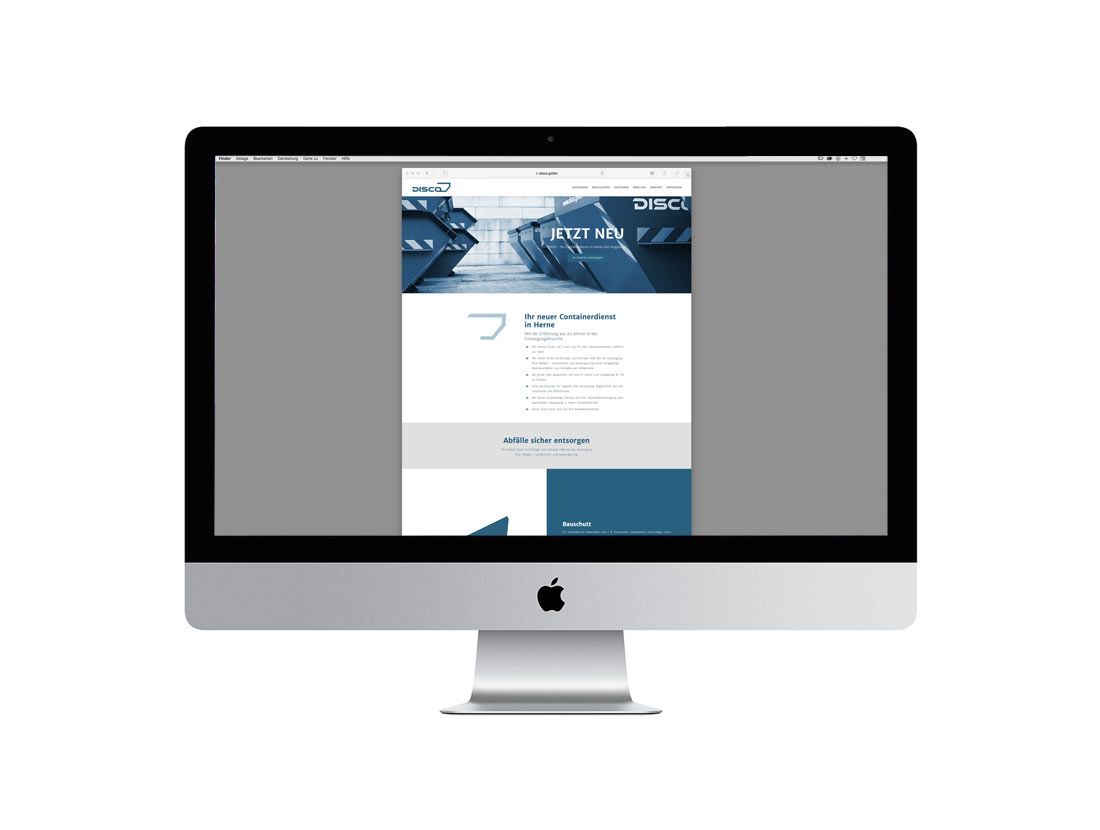 Disco GmbH Website