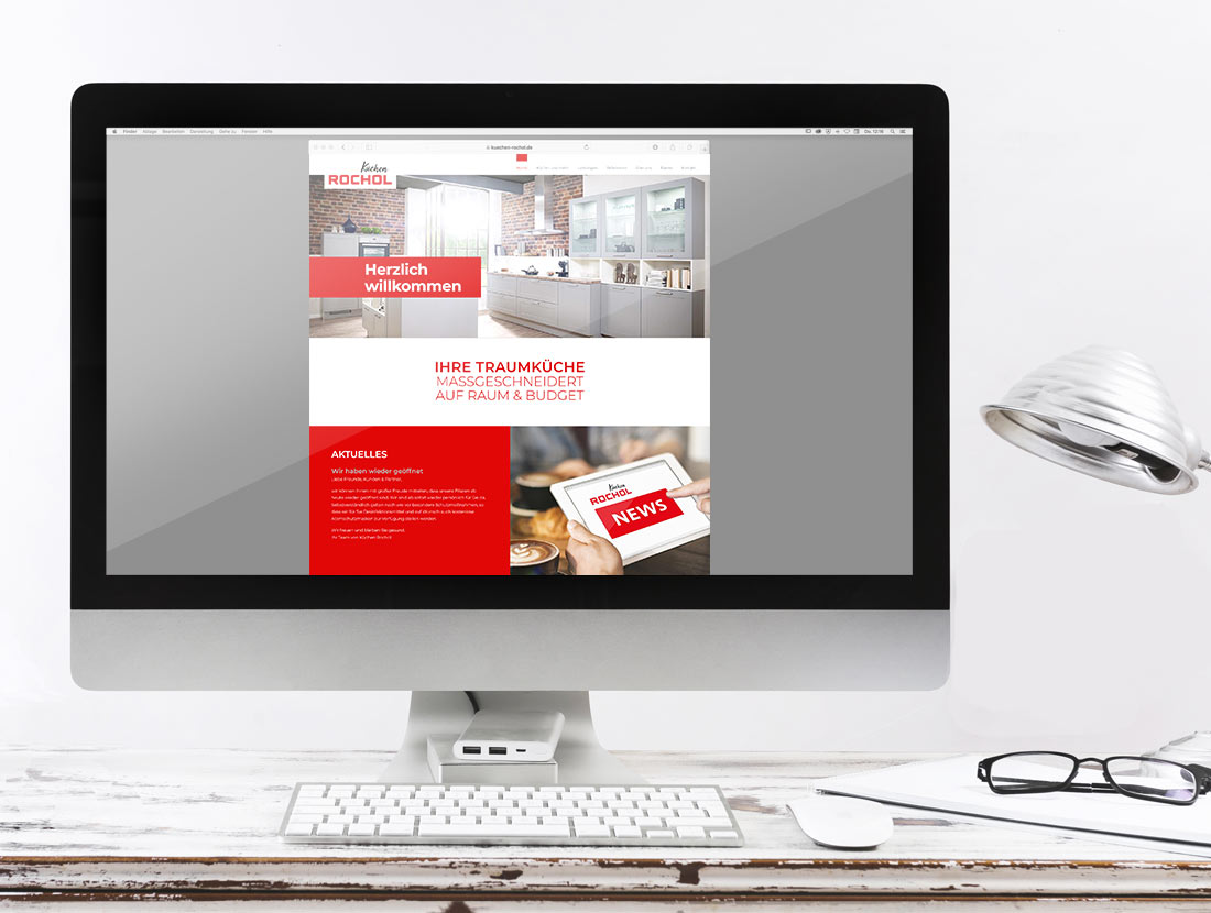 Küchen Rochol Website