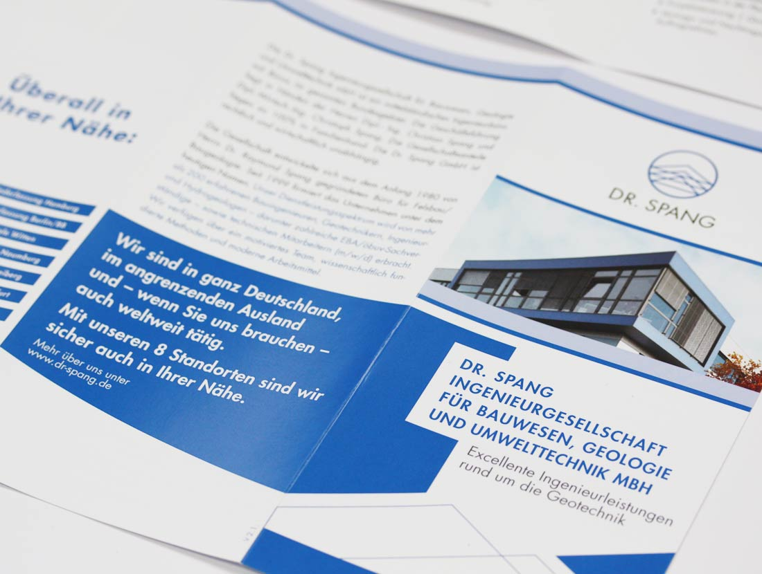 Dr. Spang GmbH Flyer