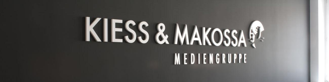 Kiess und Makossa Logo Besprechungsraum