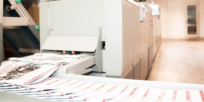 Digitaldruck Maschine Mediengruppe